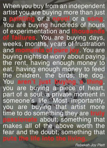 When You Buy . . .