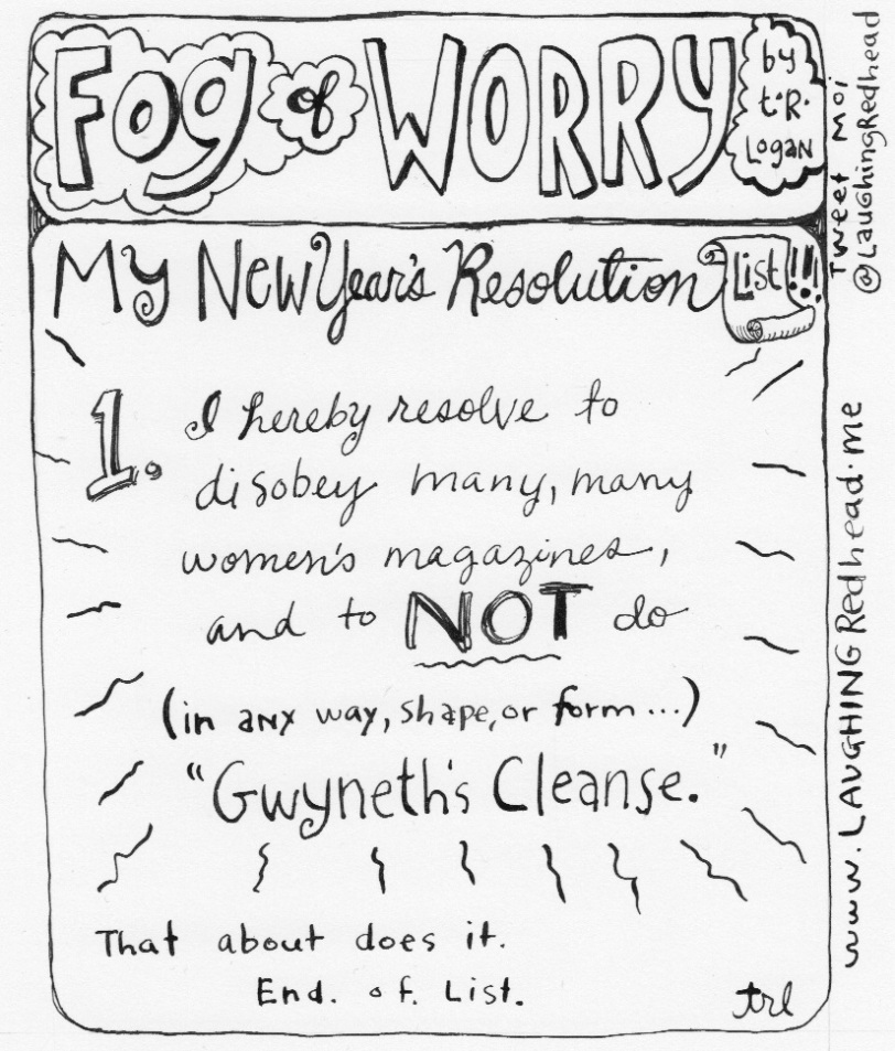 New Year's Resolution