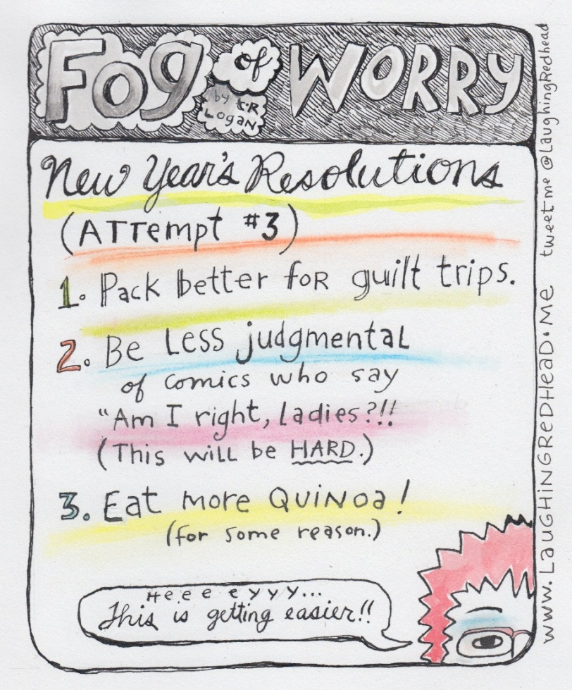 New Year's Resolutions 3rd attempt