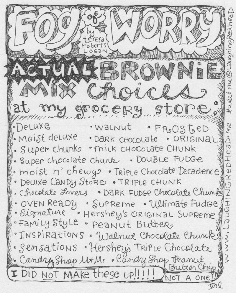 Actual Brownie Mixes