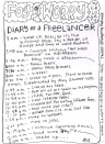 Diary of a Freelancer