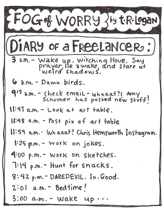 Fog of Worry Diary